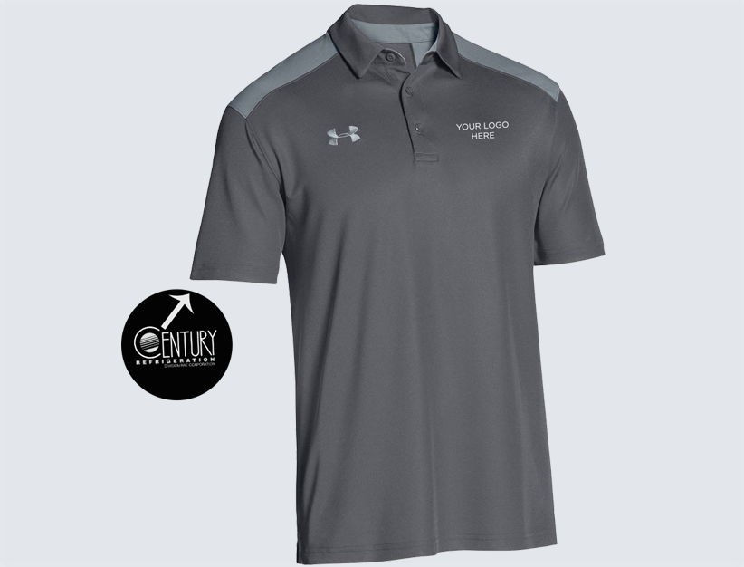 7357fe5c Home / Century / Clothing / Century Refrigeration Co-Branded Under Armour  Performance Polo ...