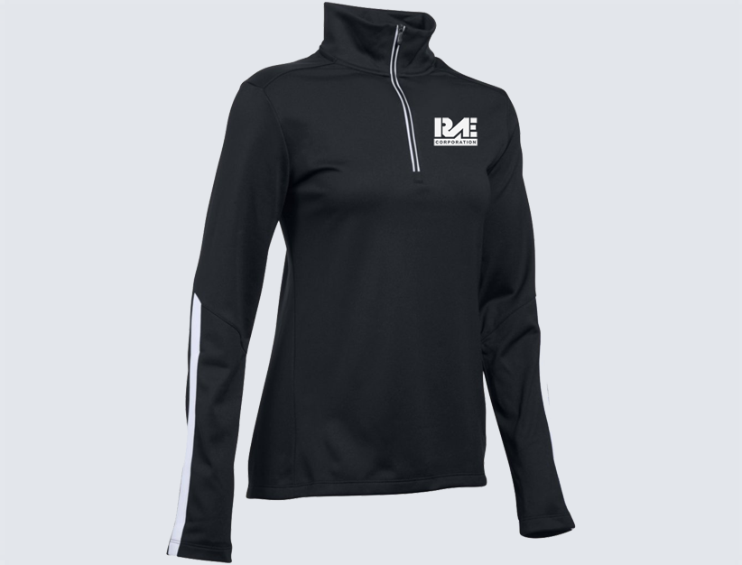 Rae Corporation Womens Under Armour Quarter Zip Pullover Rae